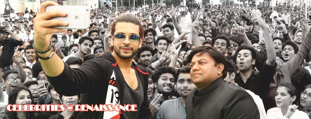 Karan Kundra paid a visit to the institute for a personality development workshop